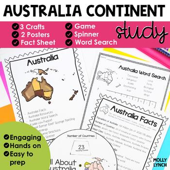 http://www.teacherspayteachers.com/Product/Its-a-Small-World-Unit-Australia-Continent-Study-689598