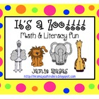 It's a Zoo Math & Literacy Fun!