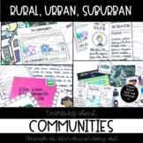 Community Unit! {Rural, Urban, & Suburban}