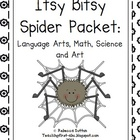 Spider Packet- Language Arts, Math,  Art, Science