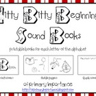 Itty Bitty Beginning Sound Books