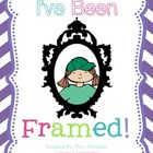 I've Been Framed! {Classroom Bulletin Board Display}