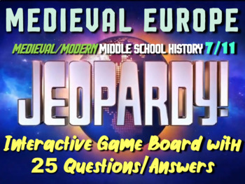 JEOPARDY! Europe Jeopardy