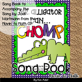 Jack Hartmann Mr Alligator Can Chomp Fun Music Book