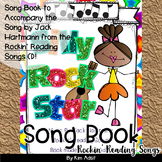 Jack Hartmann Silly Rock Star Fun Music Book