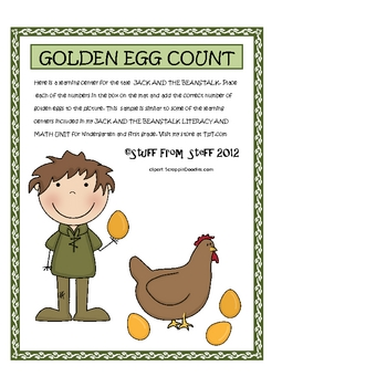 Jack And The Beanstalk Golden Egg Count
