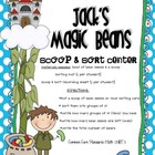 Jack's Magic Beans-Scoop & Sort Place Value Center