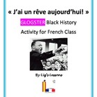 """J'ai un reve!"" French Glogster Black History Activity"
