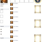 James Madison Presidential Fakebook Template