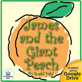 James and the Giant Peach Novel Unit CD~ Common Core!