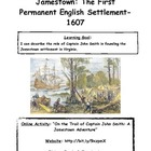 Jamestown: The First Permanent English Settlement