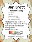 LITERACY: Jan Brett Author Study- 5 days of activities