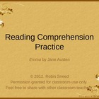 Jane Austen's Emma: Reading Comprehension Practice (PowerPoint)