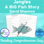 Jangles A BIG Fish Story  Bluebonnet Nominee Reading Compr