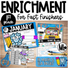 January Enrichment/Early Finishers*First Grade*