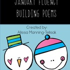 January Fluency Building Poems {Common Core Aligned}