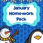 January Homework Pack