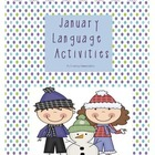 January Language Activities