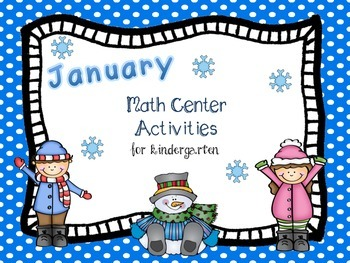 January Math Center Activities