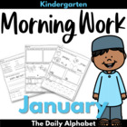 January Morning Work ~ Kindergarten