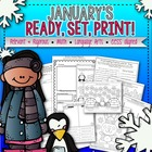 January's Ready, Set, Print!