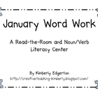 January Read-the-Room Word Work