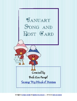January Song and Post Card