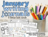 January Writing Center Task Cards