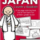 Japan Booklet (a country study!)
