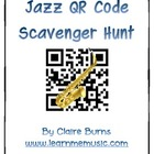 Jazz QR Code iPad Scavenger Hunt
