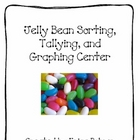 Jelly Bean Sorting, Graphing, and Tallying Math Center