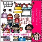 Jennifer's shopping bundle by melonheadz black and white