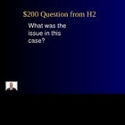 Jeopardy Law Game Graham Case Juveniles Criminal Sentencin