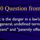 Jeopardy Law Game RENO v ACLU, Internet, First Amendment Crime