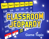 Jeopardy PowerPoint Template - Plays Just Like Jeopardy