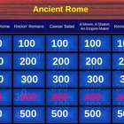 Jeopardy of Ancient Rome