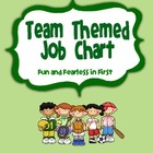 Job Chart - Team/Sports Themed