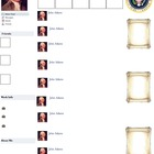 John Adams Presidential Fakebook Template