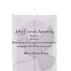 John Lennon Class Play or Assembly