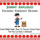 Johnny Appleseed Emergent Foldable Reader ~Color & B&W~ PL