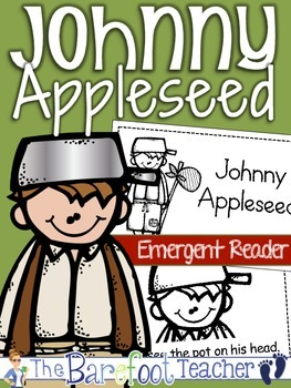 Johnny Appleseed {Apples} Emergent Reader & Colorful Class Book (Full Size)