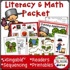 Johnny Appleseed Shared Reading Singable {CCSS}