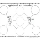Johnny Appleseed and Columbus comparing graphic organizer