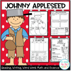 Johnny Appleseed..Activities/Crafts...Save My Ink!
