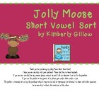 Jolly Moose Short Vowel Sort