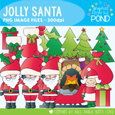 Christmas - Jolly Santa - Christmas Clipart Set for Teachers