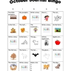 Journal BINGO October