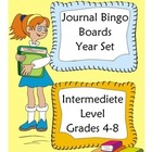 Journal Bingo Boards 5x5 Intermediete Level