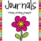 Journals: Weekly Writing Prompts