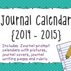 Journal Prompt Calendar {2014-2015}